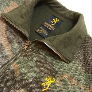 Browning Wool Vest in Camo